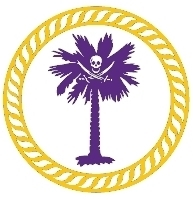 palmetto pirate printing round logo contact us page